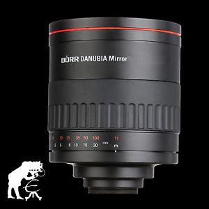 Miroir teleobjectif 500mm 6 3 Caulier DANUBIA pour Nikon d3100 d3200