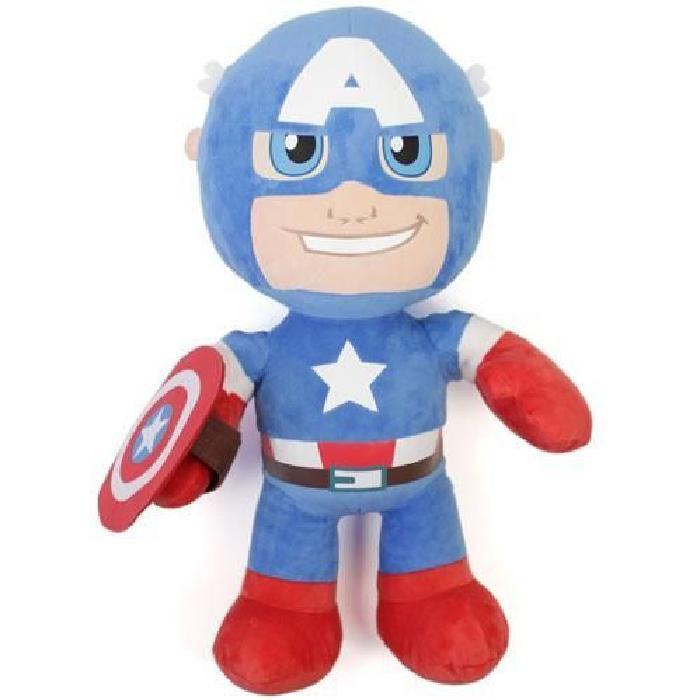 Peluche Captain America Disney 50 cm Achat / Vente peluche