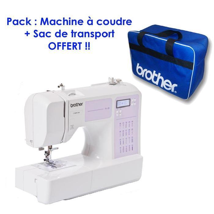 BROTHER FS 20 + Sac HSMBLUEBAGZ2 Achat / Vente machine à coudre