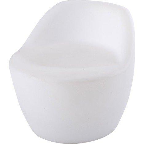 Siège de détente de jardin Led Chair blanc opaque IBIZA | Leroy