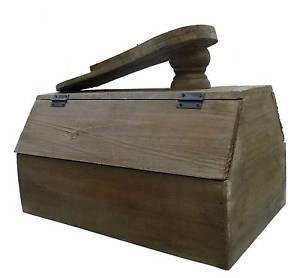 meuble boite de rangement caisse coffre coffret a cirage