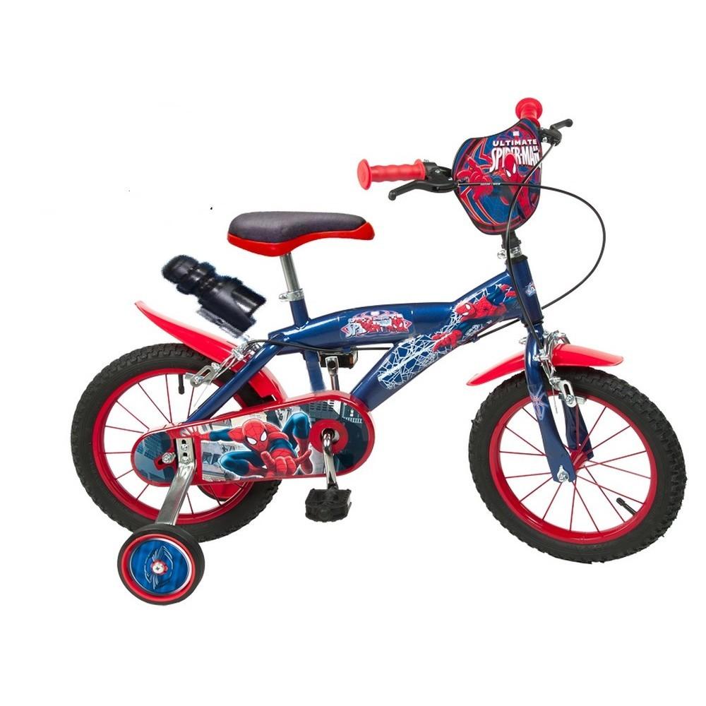 Vélo officiel Disney Spiderman 14 pouces enfant neuf