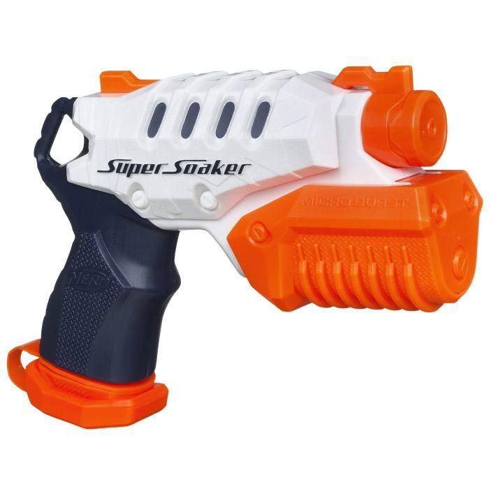 NERF Super Soaker Pistolet Micro Burst Achat / Vente pistolet bille