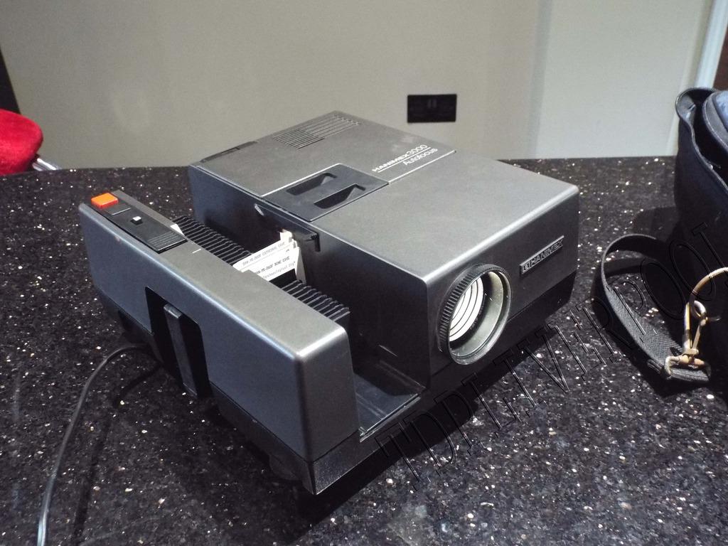 HANIMEX autofocus projecteur de diapositives visionneuse