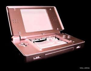 Nouvelle Nintendo DS DSL Lite Rose console shell cas de