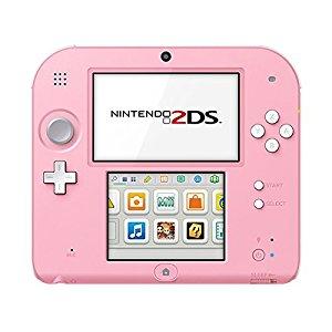 Console Nintendo 2DS rose & blanc: Jeux vidéo
