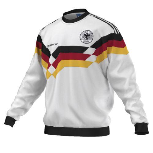 Adidas originals Allemagne Sweat Shirt Og Dfb Crew pas cher Achat