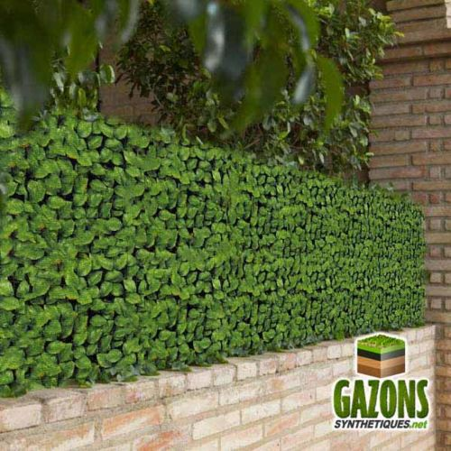 France Green Haie Artificielle Feuilles de Rosier 1m50 x 3m pas