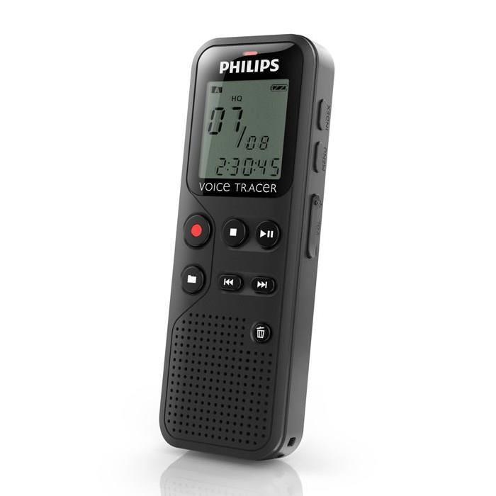 PHILIPS DVT1100 Dictaphone numérique 4go dictaphone magneto