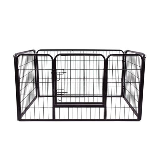 Homcom Luxe parc enclos a chiens chiots rongeurs 125 x 80 x 70 cm 4