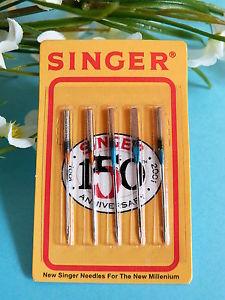 POCHETTE D' AIGUILLES POUR MACHINE A COUDRE SINGER N° 80/11 ET 90/14