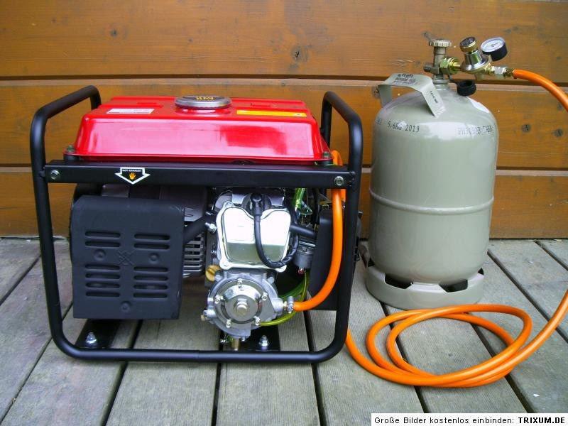 Gaz LPG Camping transformé générateur électrique groupe
