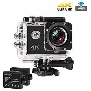 Caméra Sport 4K WiFi, CrazyFire 16MP Ultra HD Caméra d'Action