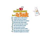 Biberon Humour 10 Commandements de la Retraite: Jeux et