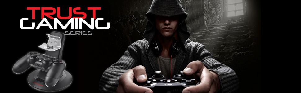 dock, charge, duo, deux, USB, Manette, PS4, Gaming, Jeux, GXT, Trust
