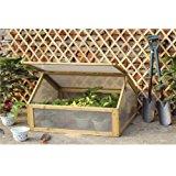 ProBache Mini serre de jardin avec châssis bois + housse amovible