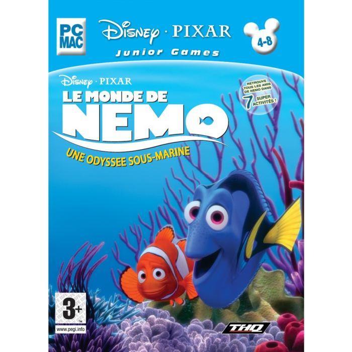 MONDE DE NEMO CLASSIC / PC MAC Achat / Vente jeu pc LE MONDE DE NEMO