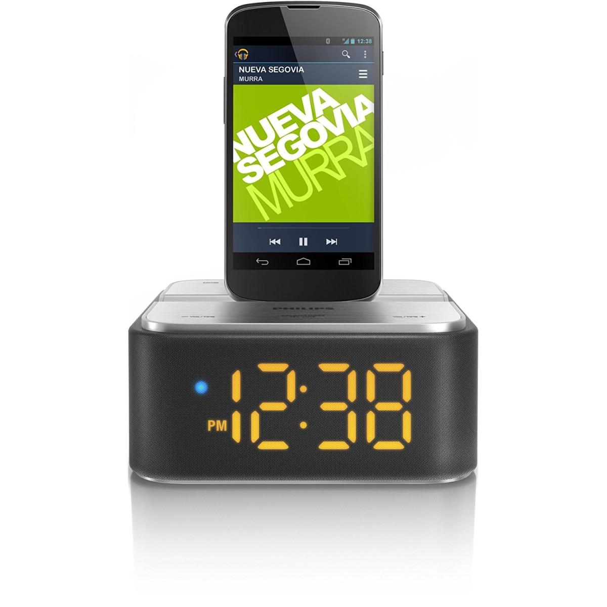 Philips AS360/12 Station d'accueil Android Noire avec Bluetooth apt X