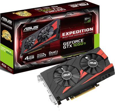 Asus GeForce GTX1050TI 4G EX Carte graphique Boulanger