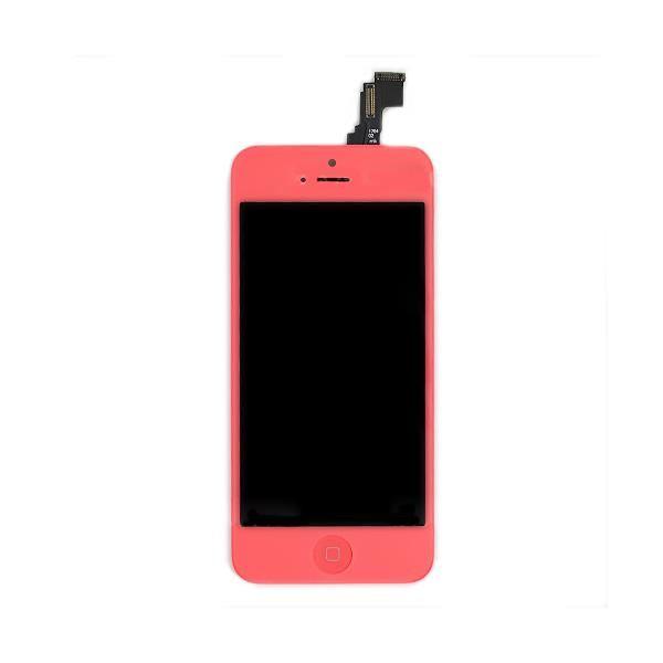iphone 5C Vitre + LCD Rose Achat pièce téléphone pas cher, avis