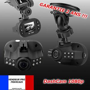Dashcam 1080 Board Enregistreur Caméra Embarquée Voiture HD Nuit G