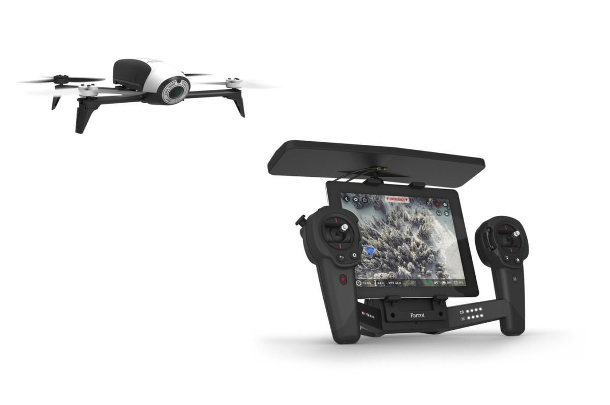 Drone Parrot BEBOP 2 BLANC + SKYCONTROLLER BEBOP 2 (4176561) |