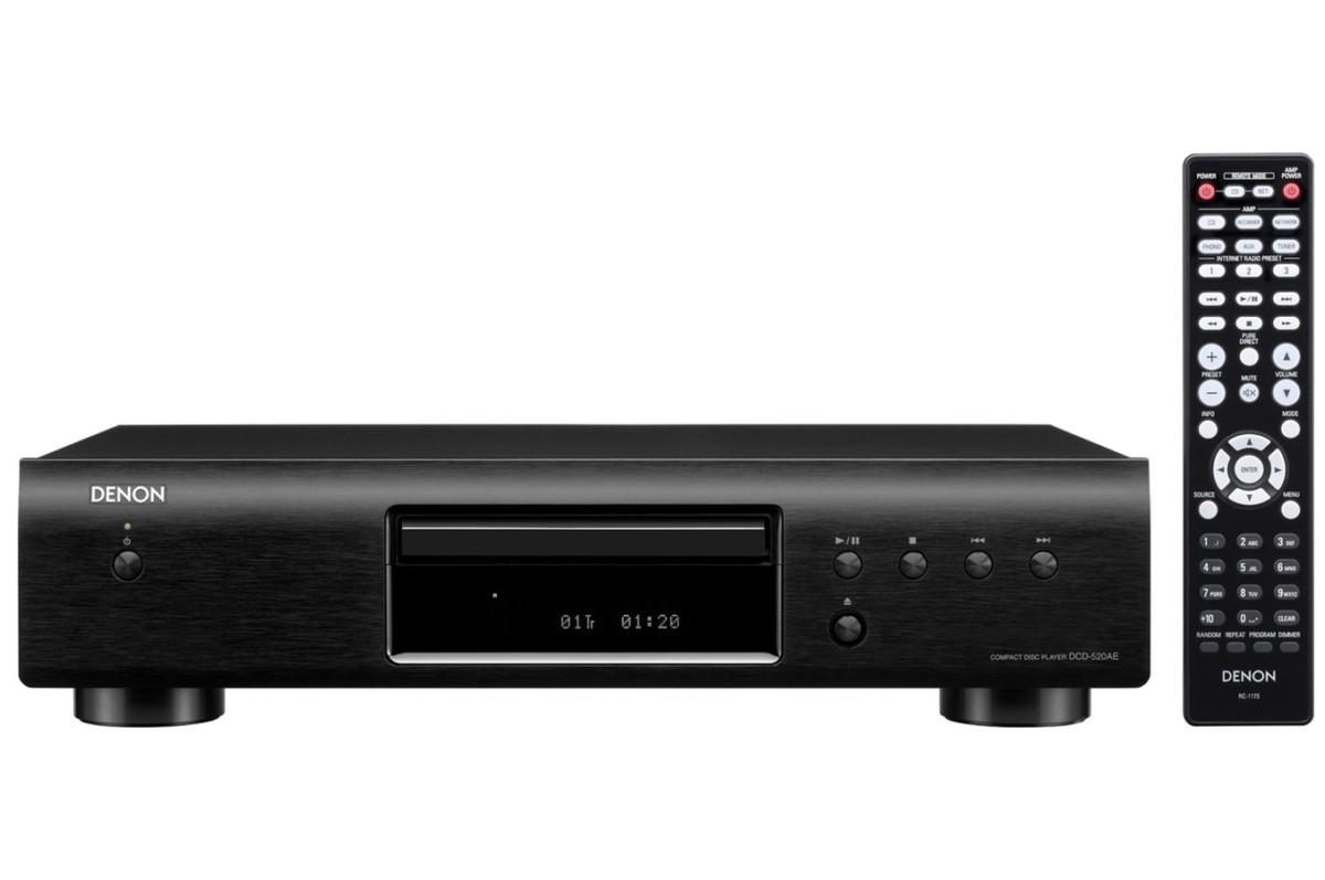Lecteur CD Denon DCD520 NOIR (3621405) |