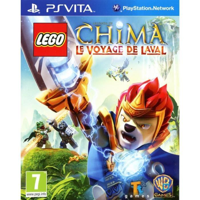 Lego Chima Jeu PS Vita Achat / Vente jeux ps vita LEGO CHIMA / Jeu