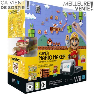 Console Wii U NINTENDO Wii U Pack Premium Super Mario Maker