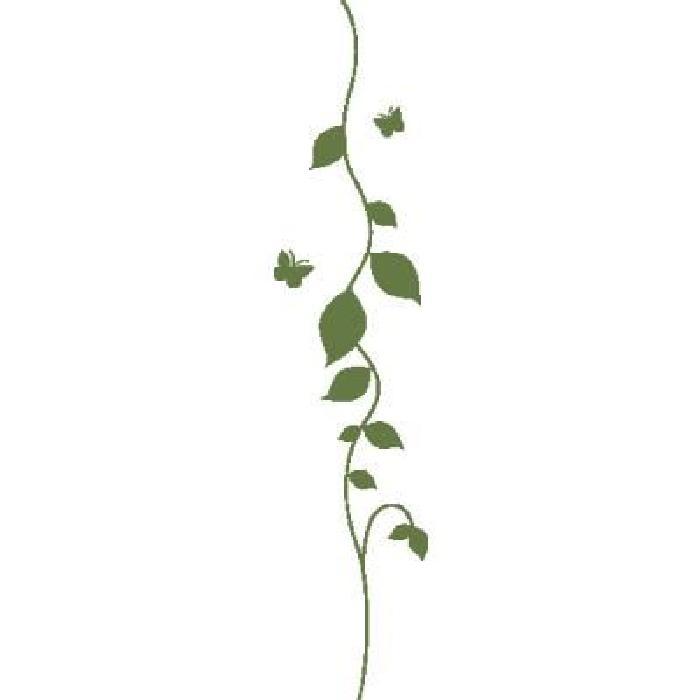 Sticker plante grimpante, nature et verdure d 50 x 10 cm Pesto