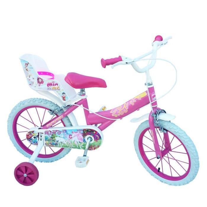 Vélo disney mia et moi 14 pouces Prix pas cher Soldes* d?été