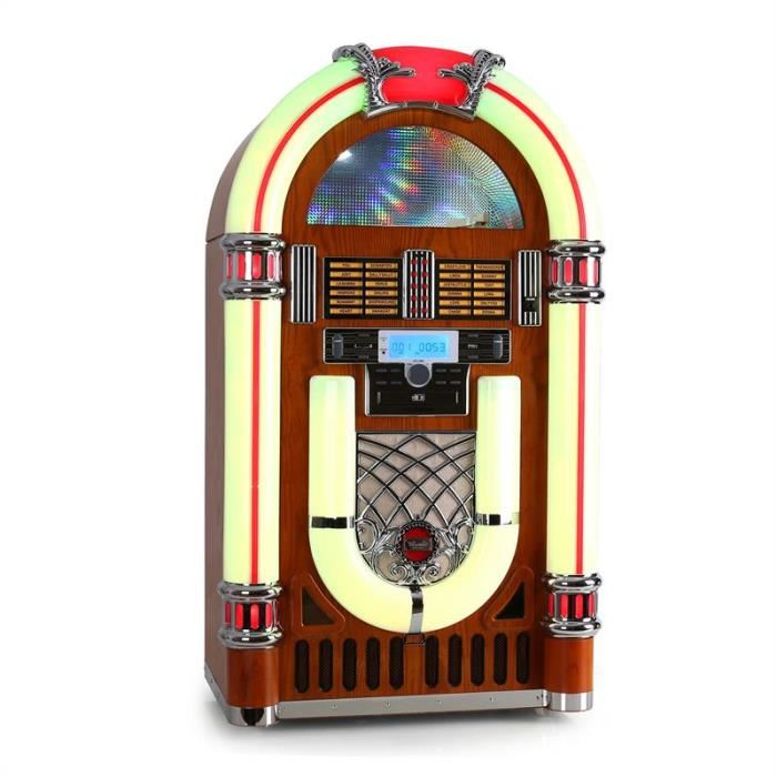 Ricatech RR2100 Jukebox USB SD AUX CD FM/AM chaine hi fi, avis et