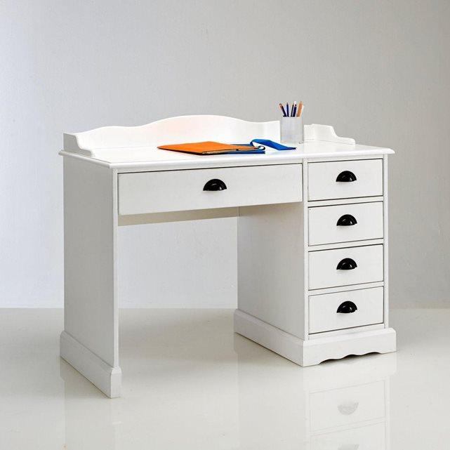 Bureau blanc, authentic style Interieurs
