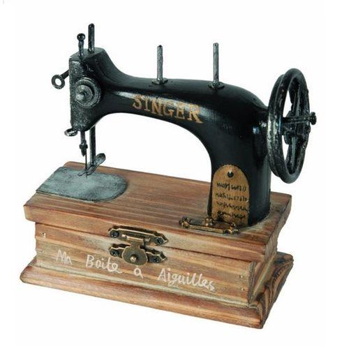 Boite a aiguilles machine a coudre singer Antic Line
