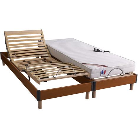 Lit relaxation électrique TPR BARYTON Lit 160×200 cm pas cher à