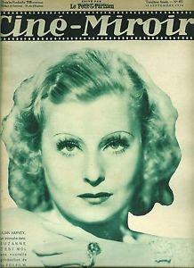 Ciné Miroir n°493 / 1934 / Lilian Harvey, Maurice Chevalier, Shirley