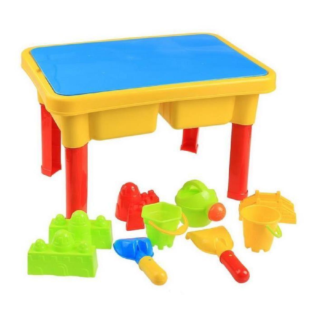 table de plage homdox enfants jeu de plage sable e