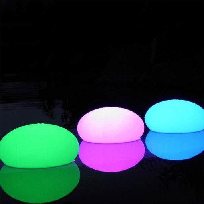 lampe décorative galet lumineux led 12 cm Achat / Vente lampe