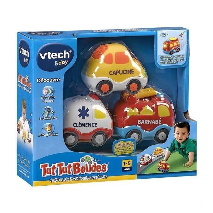 TUT TUT BOLIDES Coffret Trio Pompiers Achat / Vente voiture camion