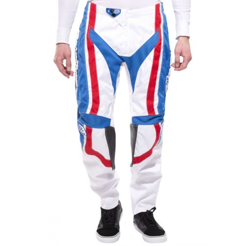 Troy Lee Designs Gp Factory Pantalon Downhill Homme blanc pas