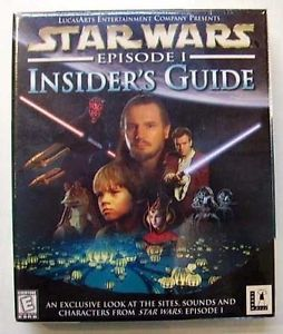 STAR WARS Insider's Guide Guide Interactif EN ANGLAIS