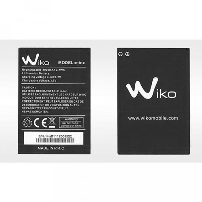 Batterie Wiko MINZ 1000 mAh Achat chargeur téléphone pas cher