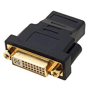 SODIAL(R) Adaptateur/convertisseur TV DVI I Dual Link femelle vers