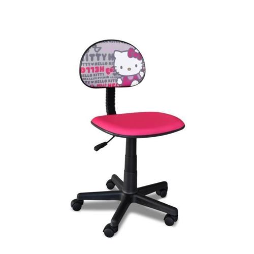 Ze shop Hello Kitty Chaise de bureau enfant petit modele Rose pas