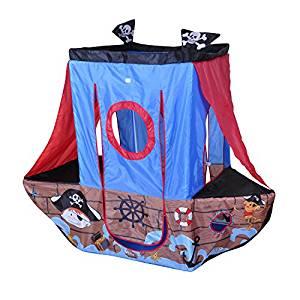Knorrtoys 55701 Tente bateau avec motifs Pirates: Jeux et