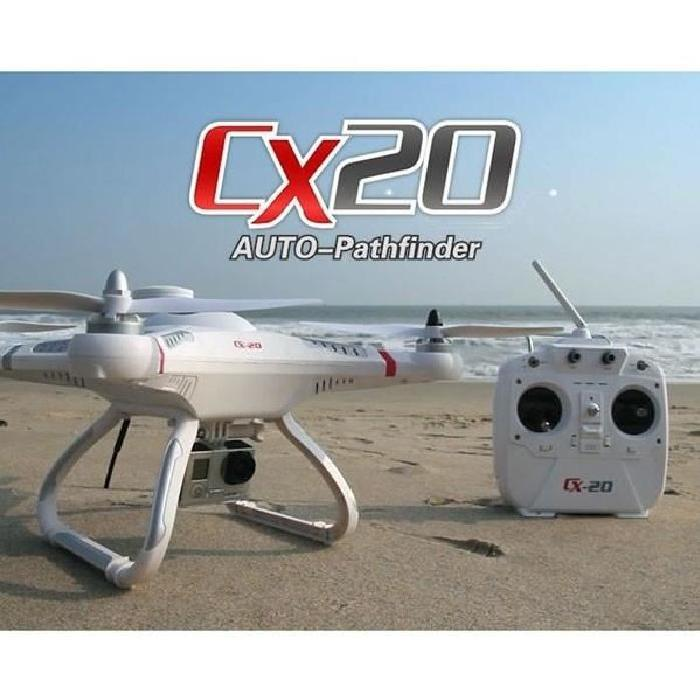 DRONE PROFESSIONNEL CX 20 GPS SUPPORT GO PRO Achat / Vente avion