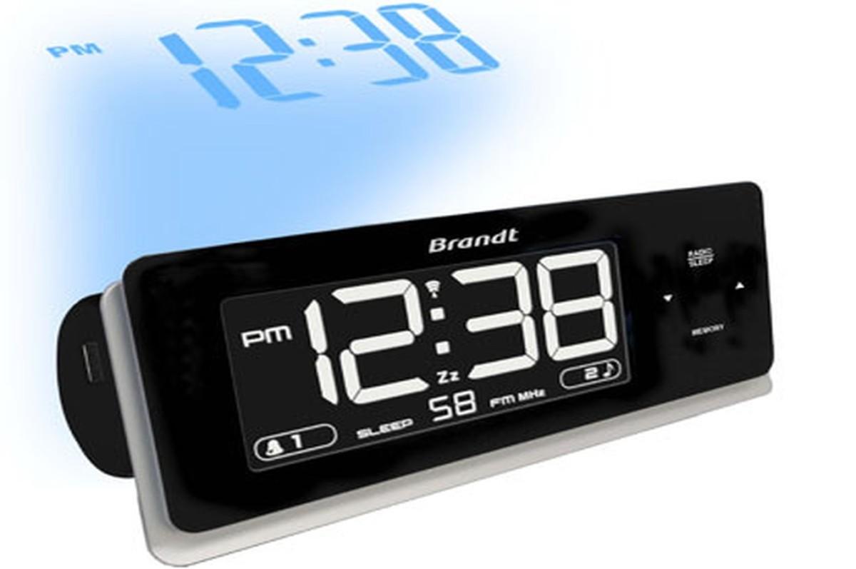 Radio réveil Brandt BCR86P (3112942) |