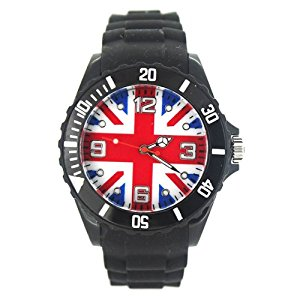 Montre Enfant Ado London Drapeau Anglais Union Jack