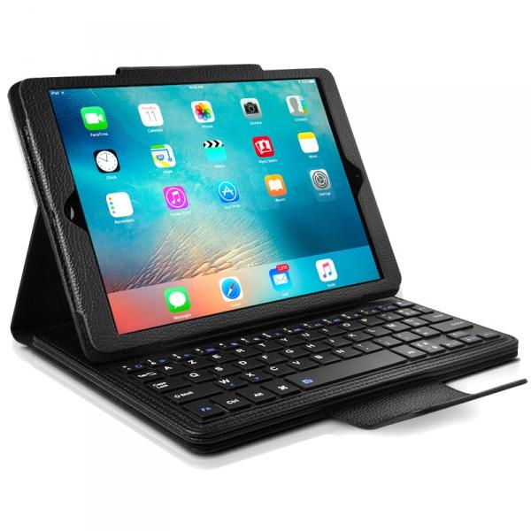 Etui Clavier Azerty Français Bluetooth pour Tablette Apple, Samsung