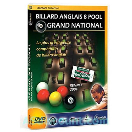 Billard Anglais 8 Pool Grand National Dvd Edition simple pas